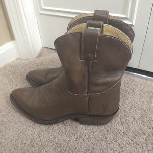 FRYE Billy Short Boot - Vintage Tumbled Leather